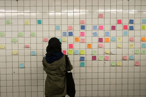 Manhattan Subway Passage Becomes Emotional Outlet After Election | Mrs Savourat's Page | Scoop.it
