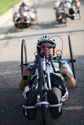 Meijer State Games: Cyclists compete on new course in time trials | Celebrities | Scoop.it