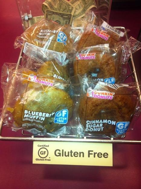 Dunkin' Donuts Tests Gluten-Free Items at Some Boston Area Locations | Gluten Free Lifestyle | Scoop.it