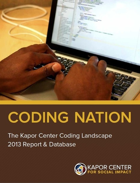 Coding Nation | Kapor Center | STEM Education models and innovations with Gaming | Scoop.it