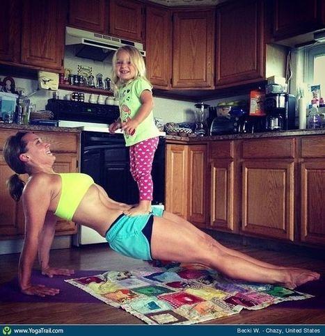 #Yoga Poses Around t | yoga | Scoop.it