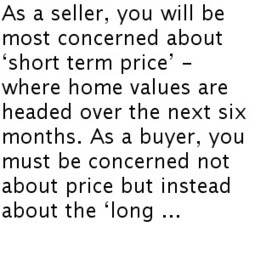 BUYING A HOME? CONSIDER COST NOT JUST PRICE | Real Estate | Scoop.it