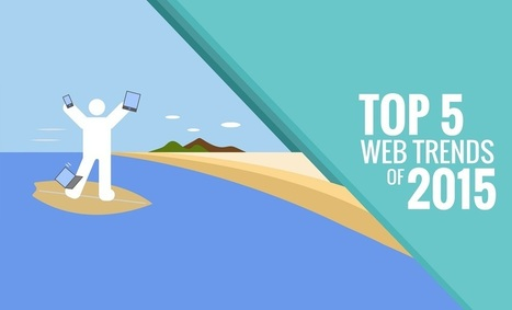 Top 5 Web Design Trends for 2015 [INFOGRAPHIC] | Web and Graphic Design | Scoop.it
