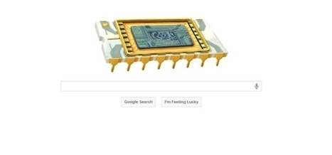 Google doodle honors 'Mayor of Silicon Valley' Robert Noyce   It's All Social   Scoop.it