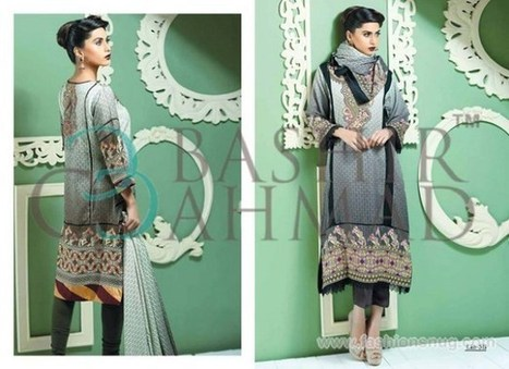 Bashir Ahmad Linen Collection 2014-2015 In Stores | Fashion Blog | Scoop.it
