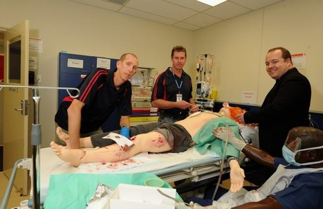 Simulated patient that bleeds and sweats is no dummy - Fraser Coast Chronicle | Simulation Based Edcuation | Scoop.it