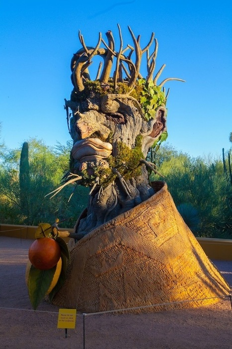 Fantastical Heads Made of Trees and Flowers Represent the Four Seasons | Amazing Arts & Design | Scoop.it
