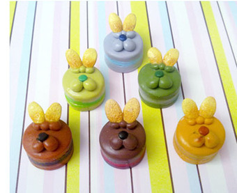 Tutorial: White Rabbit Mont Blanc Cake - Polymer Clay - Craft Gossip   Favorites Polymer, Fimo Creations   Scoop.it