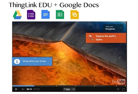 Transform Teaching & Learning with ThingLink EDU & Google Docs | Google Docs for Learning | Scoop.it
