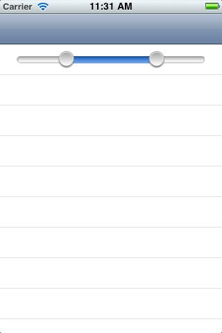 RangeSlider for iOS - Cocoa Controls | iPhone & iPad Development Tips | Scoop.it