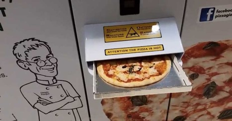 Pizza and Other Weird Things to Come Out of Vending Machines | Prozac Moments | Scoop.it
