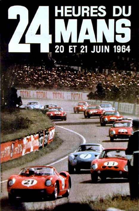 1964 Le Mans 24 hours - 1964 Manufacturers World Championship | Historic cars and motorsports | Scoop.it