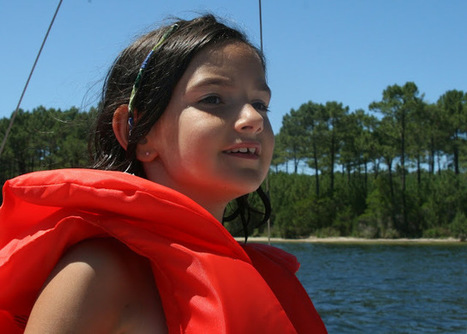 American Mom in Bordeaux: Sailing on Lac Hourtin-Carcans- Maubuisson-Gironde region France | Expat Life in Bordeaux, France | Scoop.it