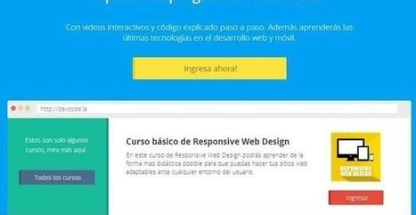 DevCode, sitio en español con cursos gratis para aprender a programar | Creación y gestión de Aplicaciones Web & Móvil | Scoop.it