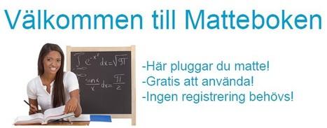 Matteboken - Hem | Mattelänkar | Scoop.it