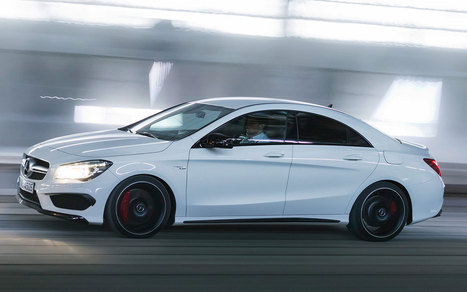 2014 Mercedes-Benz CLA45 AMG Coupe | Mercedes-Benz | Scoop.it