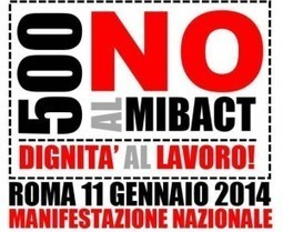 Gli archeologi in piazza: 500 no al Mibact - Left | Cultura | Scoop.it