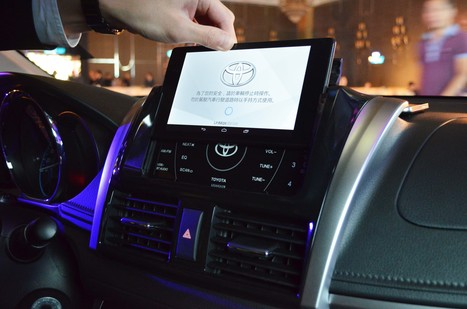 Toyota Doing Connected Car Different with a Dockable Nexus 7 | Being Smart | Scoop.it