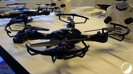 Polaroid se met aux drones avec un Phantom (à ne pas confondre avec ceux de DJI) - FrAndroid | Geek 2015 | Scoop.it