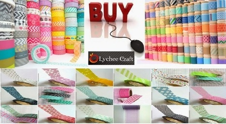 Tips to Find Cheap Washi Tape Online and View the Best Resource | Washi Tape | Scoop.it