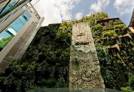 El mayor jardín colgante en el Hotel Mercure Madrid   telva.com   Cultivos Hidropónicos   Scoop.it