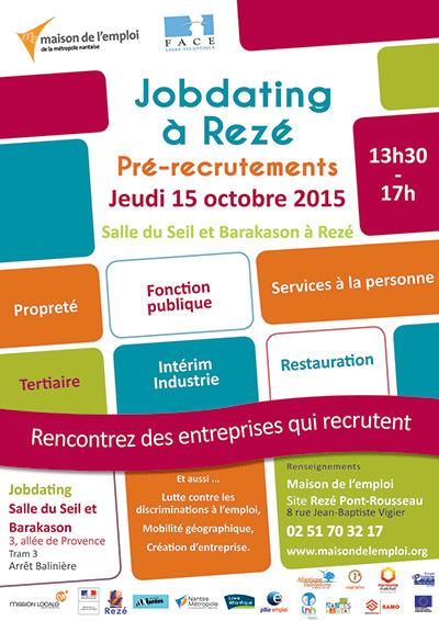 Rezé : 15/10 : Jobdating | Economie sociale et solidaire à Nantes | Scoop.it