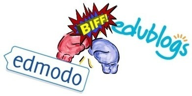 Edmodo vs Blogging | compaTIC | Scoop.it