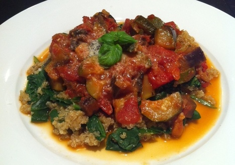 Fit For Life Coaches – RATATOUILLE WITH SPINACH QUINOA | Health and Fitness | Scoop.it