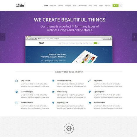 Total WordPress Theme | WordPress Theme Download | Best WordPress Themes 2013 | Scoop.it