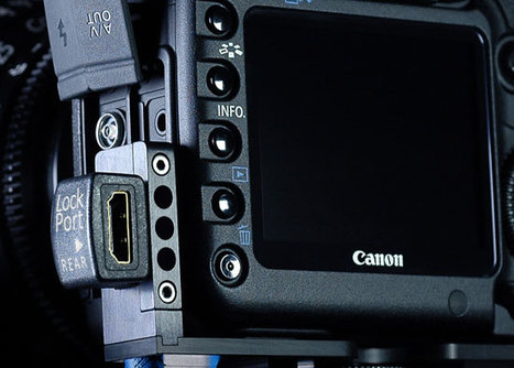 Protect your Canon 5D mini-HDMI input & cable | Photography Gear News | Scoop.it