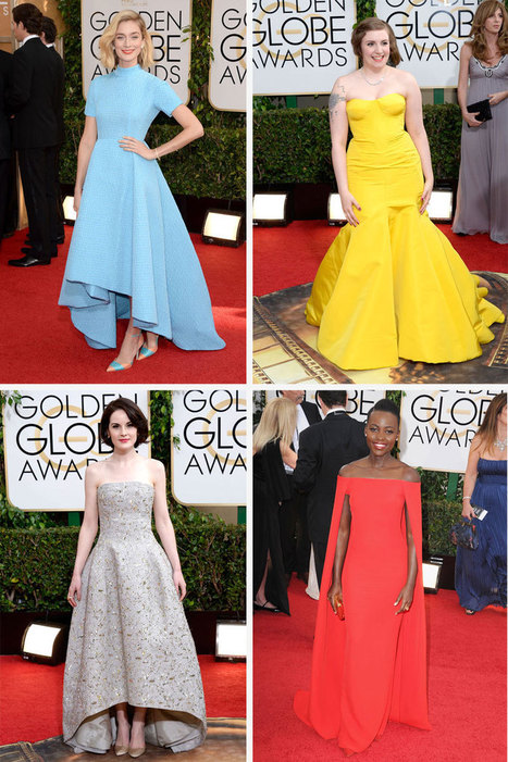 See All the Looks From the Golden Globes | Fashion Inspiration | Scoop.it