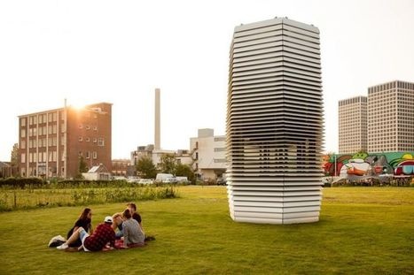 The Largest Air Purifier Ever Built Sucks Up Smog And Turns It Into Gem Stones  | Environmental Sciences & Engineering | Scoop.it