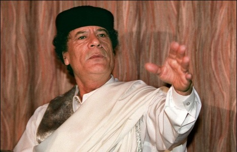 Gaddafi vows 'no mercy' in attack on Benghazi | Coveting Freedom | Scoop.it