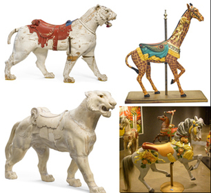 Bonhams Hollywood Carousel Figure, Mechanical Music and Automa Auction ... - Carousel News & Trader   Chinese Rocket parts Collection.........FOR SALE   Scoop.it