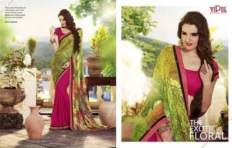 Vipul Sarees Designs | FemalesPk.Com | Fashion and Beauty | Scoop.it