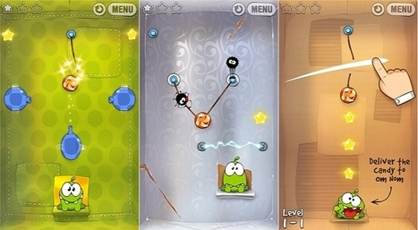 Cut the Rope and Cut the Rope: Experiments Updated on Windows Phone | Programming - WP | Scoop.it