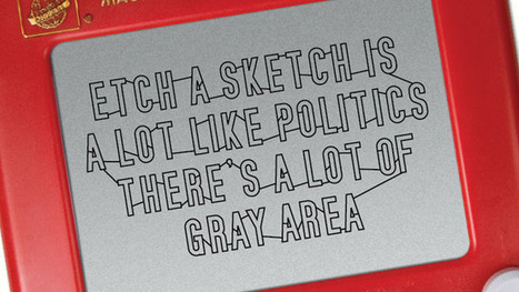 Etch A Sketch Declares Itself Apolitical in New Ads | Psychology of Consumer Behaviour | Scoop.it