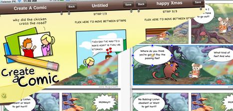 La BD (travailler en classe sur des bandes dessinées…) & Applis Android et Ipad     Narration transmedia et Education   Scoop.it