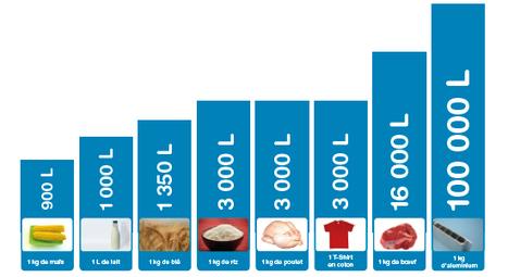 Evaluer l'empreinte eau des produits | Water Footprint | Scoop.it