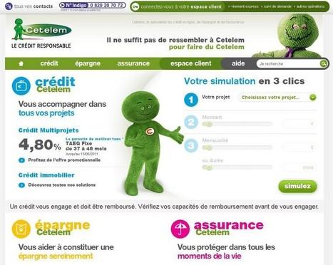 Cetelem repense l'ergonomie de son site web | UX User experience | Scoop.it