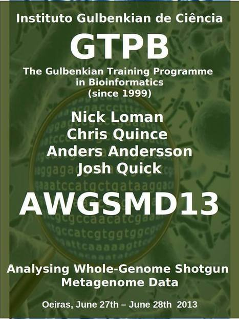 AWGSMD13 Analysing Whole-Genome Shotgun Metagenomic Data | Facebook | Bioinformatics Training | Scoop.it