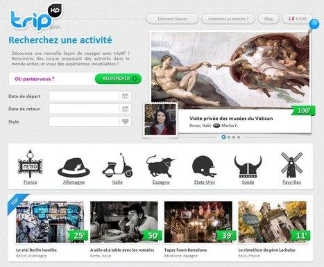 Lancement de TripXP, les activités touristiques en mode collaboratif. | E-Tourisme Mobile | Scoop.it