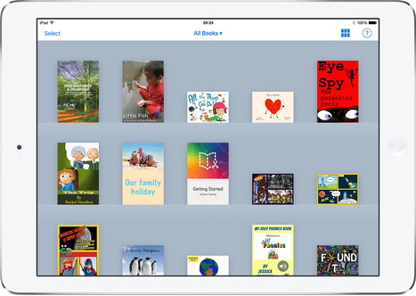 Get organized with bookshelves in Book Creator 4.1 - Book Creator app | Digi_storytelling | Scoop.it