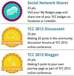 The Quest for Badging: My Experiences at TCC2012 | e-Leadership | Scoop.it