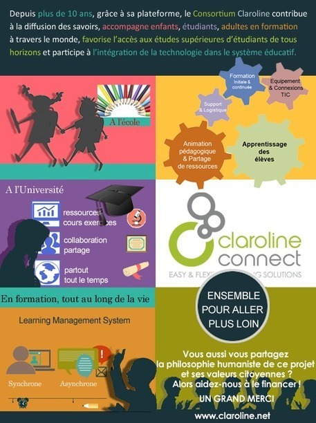 "Soutenons ""Claroline Connect"" un outil e-learning (LMS) Open-source de qualité 