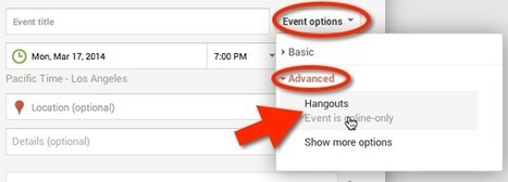 Joining a Google Plus Event Online | Google Tools | Scoop.it