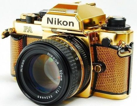 eBay Alert: Care to Pick Up a 24 Karat Gold-Plated Nikon FA? It'll Only Run You $4,800 | DSLR video and Photography | Scoop.it