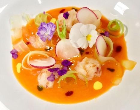 Recipe: Summer carrot soup with crispy veggies & shrimps| MaremmaBlog | Tuscan wine & foodie delights | Scoop.it