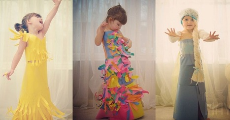 4-Year-Old Fashionista Creates Fancy Frocks Out of Paper - Mashable | Fashion ,Jewelry & Beauty | Scoop.it
