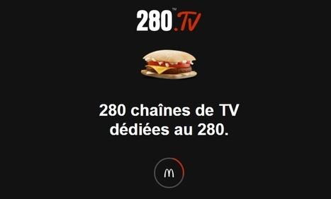 Une campagne géniale de McDonald's pour le retour du 280 en France ! | Communication, mon amour | Scoop.it